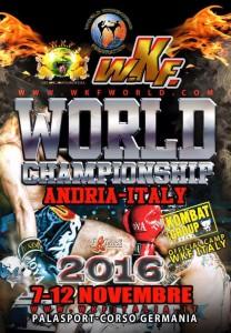 WKF  Worlds - Nov 7-12 2016