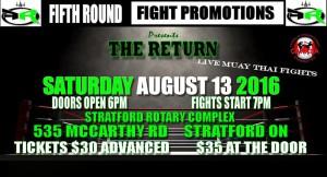 Aug 13 - Stratford